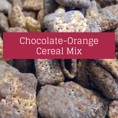 Rachael Ray: Damaris Phillips Chocolate-Orange Cereal Mix