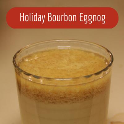 The Chew: Holiday Bourbon Eggnog Recipe