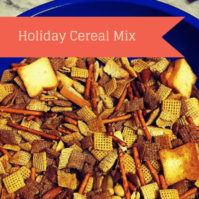 Rachael Ray: Damaris Phillips Holiday Cereal Mix