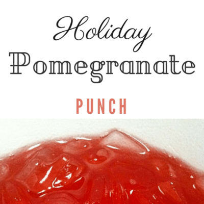 The Chew: Holiday Pomegranate Punch Recipe