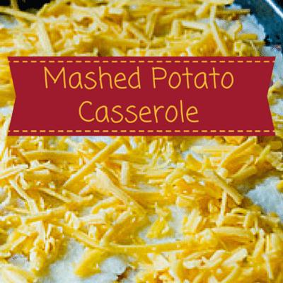 The Chew: Mashed Potato Casserole Recipe