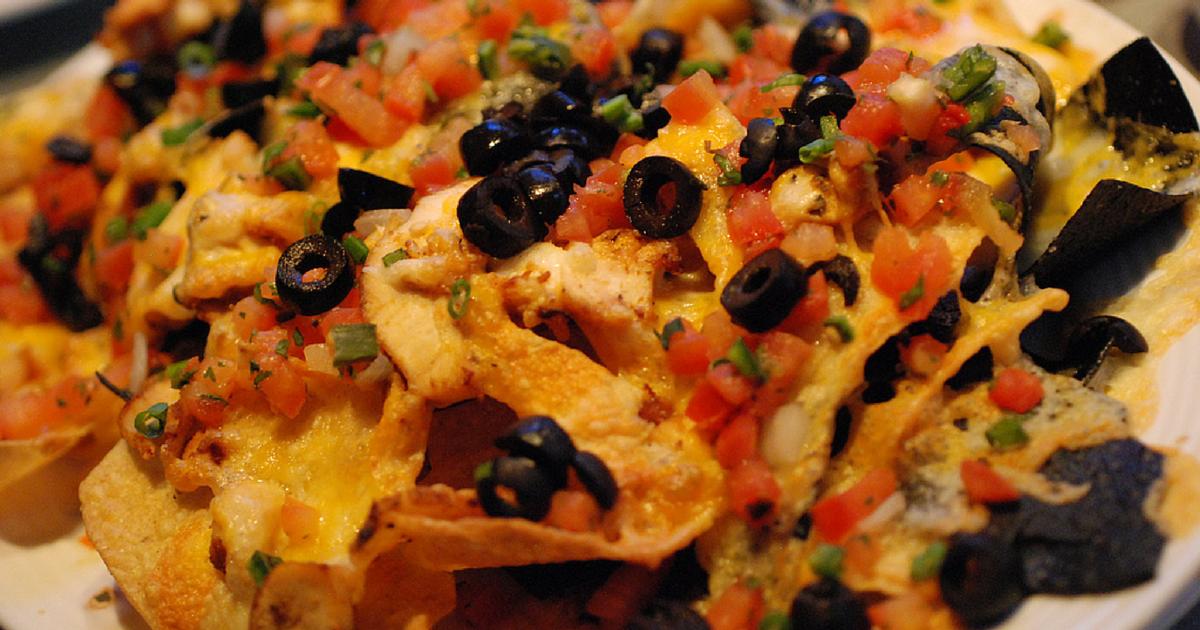 Rachael Ray: Pulled Chicken & Black Bean Nacho Casserole