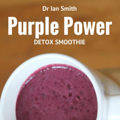 Rachael Ray: Dr Ian Smith Purple Power Detox Smoothie