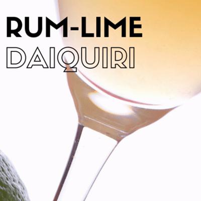 The Chew: Rum-Lime Daiquiri Recipe