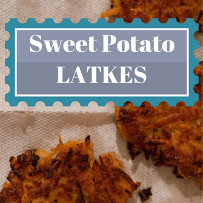 The Chew: Sweet Potato Latkes Recipe