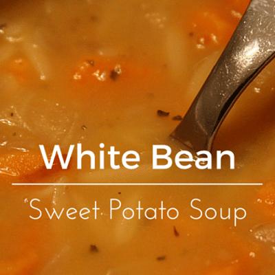 The Chew: White Bean Sweet Potato Soup Recipe