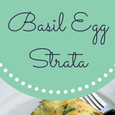 Rachael Ray: Buddy Valastro Basil Egg Strata Recipe