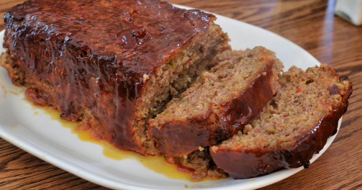 Rachael Ray Beef Bacon Meatloaf Recipe