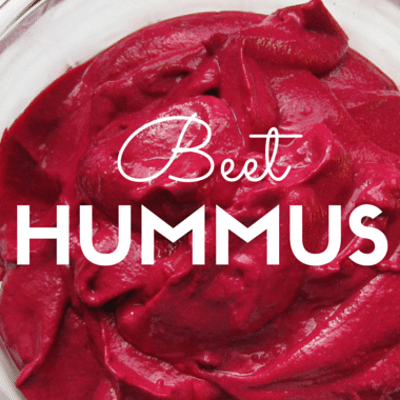The Chew: Beet Hummus Recipe