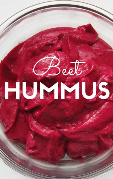 The Chew: Beet Hummus Recipe