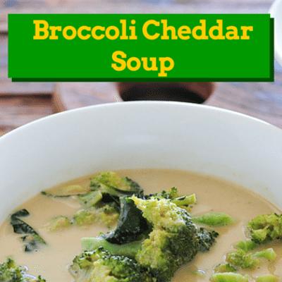 The Chew: Broccoli Cheddar Soup Recipe