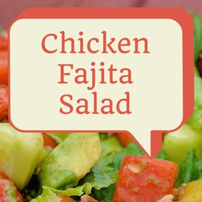 The Chew: Chicken Fajita Salad Recipe