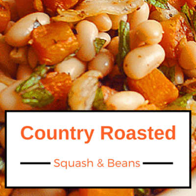 The Chew: Country Roasted Squash & Beans Recipe