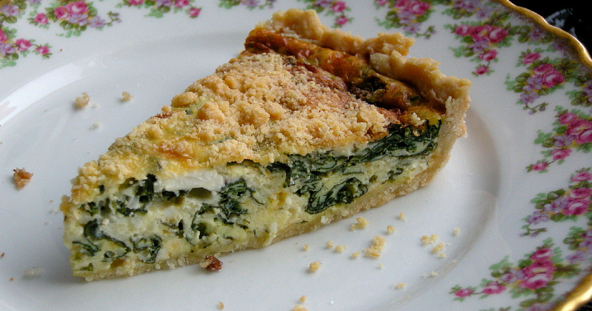 The Chew Spinach Hash Brown Quiche Recipe