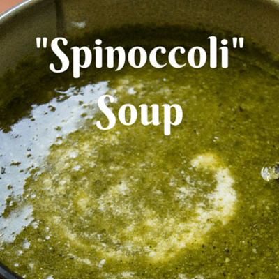 "Rachael Ray: Spinach Broccoli ""Spinoccoli"" Soup"