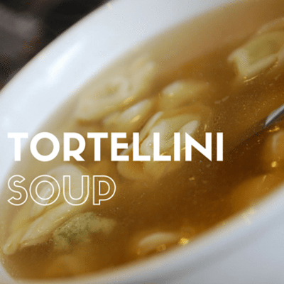"The Chew: ""Warm Up The Soul"" Tortellini Soup Recipe"