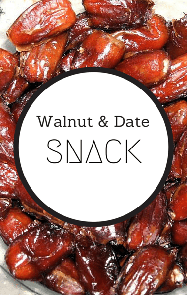 The Chew: Date & Walnut Snack Recipe