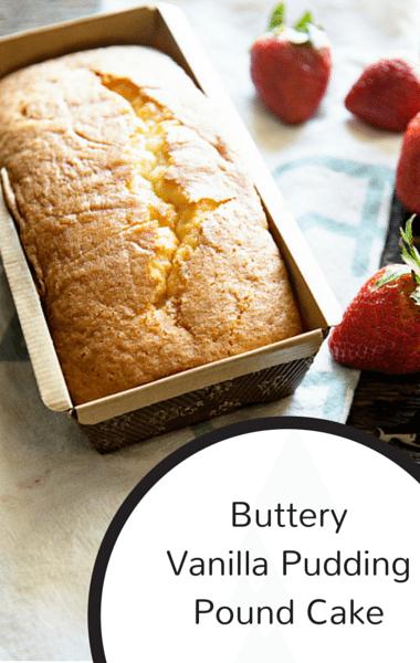 The Chew Buttery Vanilla Pudding Pound Cake