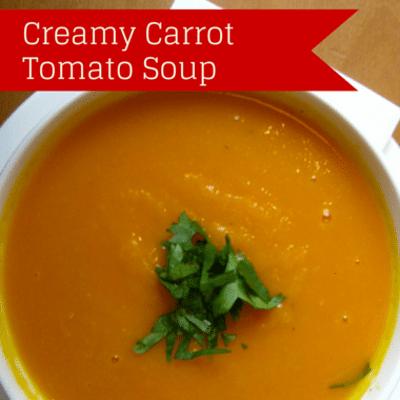 The Chew: Creamy Carrot Tomato Soup Recipe