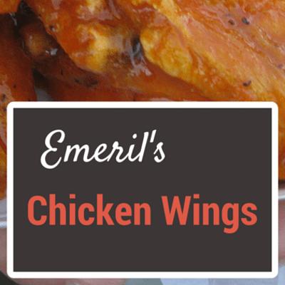 Rachael Ray: Emeril Lagasse Chicken Wings Recipe