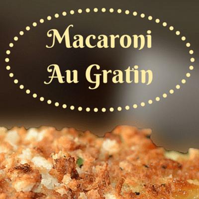 The Chew: Macaroni Au Gratin Recipe