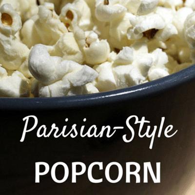 Rachael Ray: Parisian-Style Popcorn Recipe