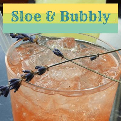 Rachael Ray: Sloe & Bubbly Cocktail Recipe