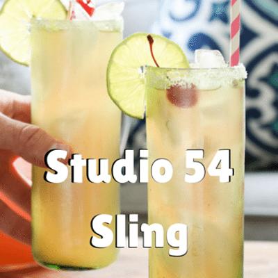 The Chew: Studio 54 Sling Cocktail Recipe
