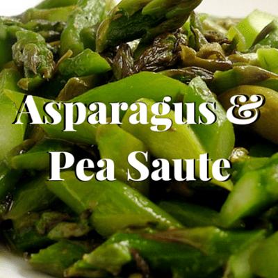 The Chew: Asparagus & Pea Saute Recipe