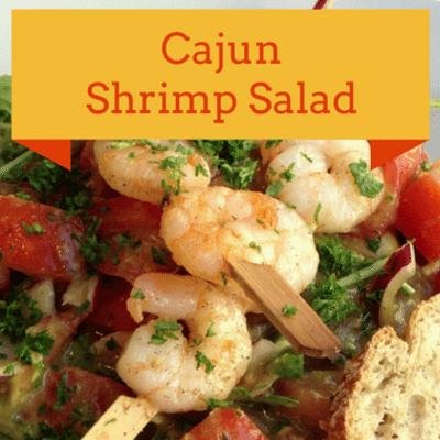The Chew: Cajun Shrimp Salad Recipe