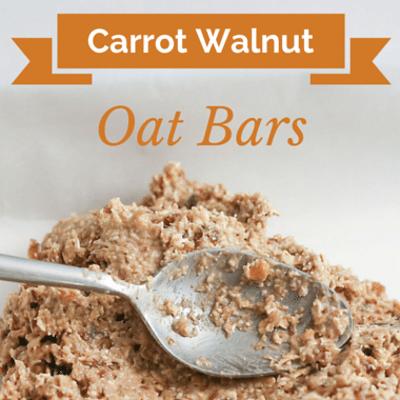 The Chew: 160-Calorie Carrot Walnut Oat Bars Recipe