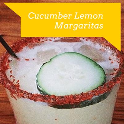 Rachael Ray: Lauren Conrad Cucumber Lemon Margaritas