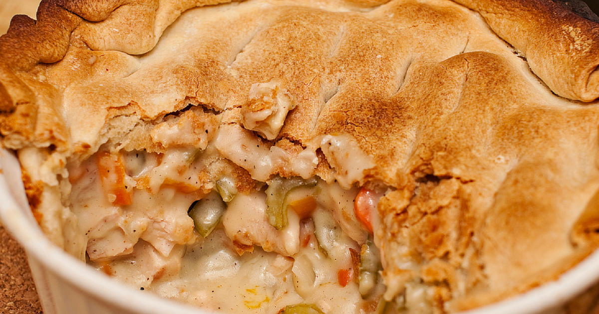 The Chew: Curry Chicken Pot Pie Recipe