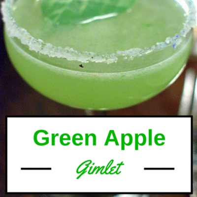 The Chew: Green Apple Gimlet Recipe