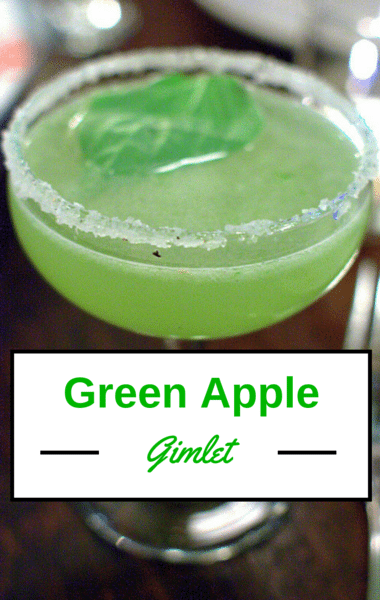 The Chew: Green Apple Gimlet Recipe
