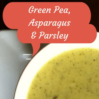 Rachael Ray: Rachel Beller Green Pea, Asparagus & Parsley