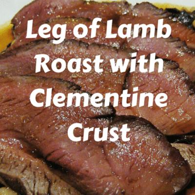 The Chew: Leg Of Lamb Roast With Clementine Crust Recipe