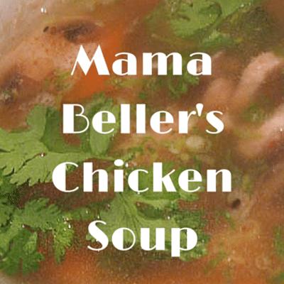 Rachael Ray: Mama Beller Chicken Soup Recipe