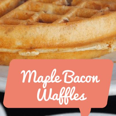 The Chew: Maple Bacon Waffles Recipe
