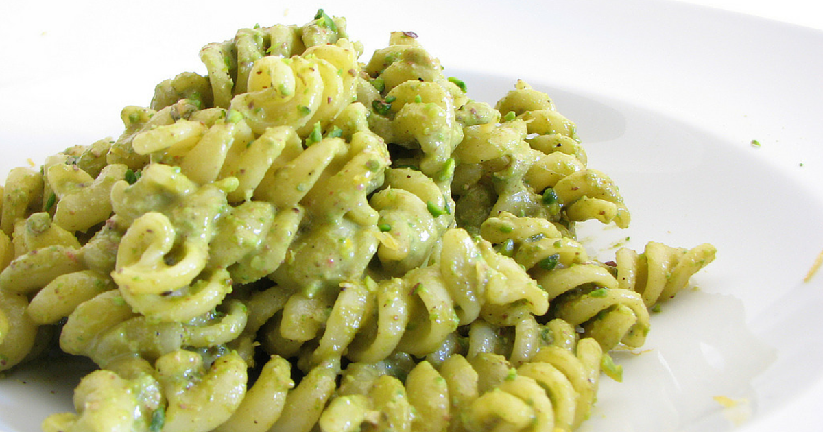 The Chew: Pasta With Pea Pesto & Potatoes Recipe