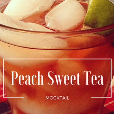The Chew: Peach Sweet Tea Mocktail Recipe