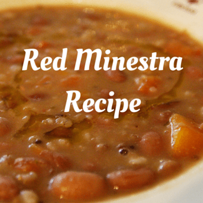 Rachael Ray: Red Minestra Recipe