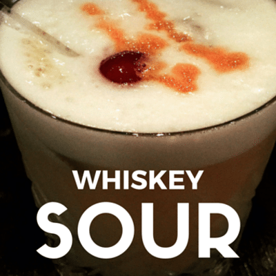 The Chew: Whiskey Sour Recipe