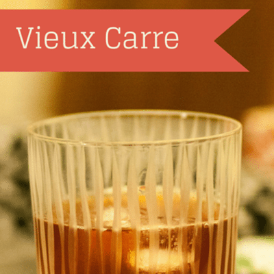 The Chew: Vieux Carre Recipe