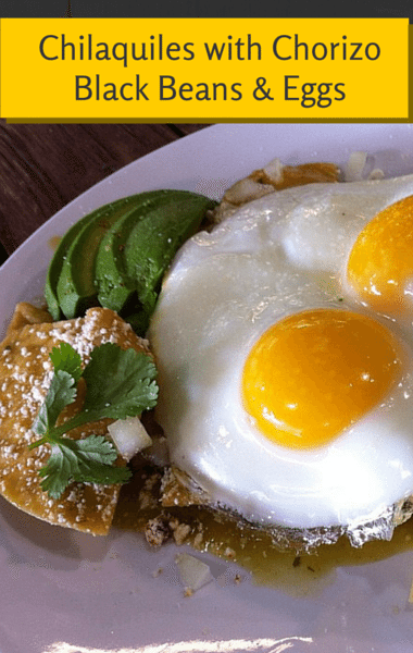 ... for brunch, lunch, or dinner, her Chilaquiles! (arndog / Flickr