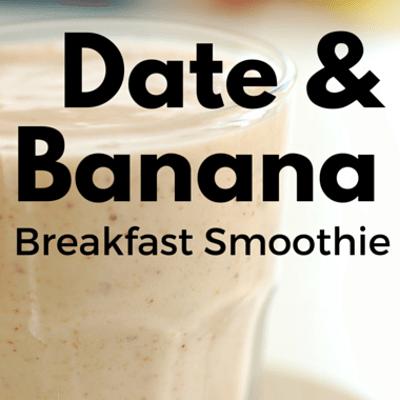 Rachael Ray: Date & Banana Breakfast Smoothie Recipe