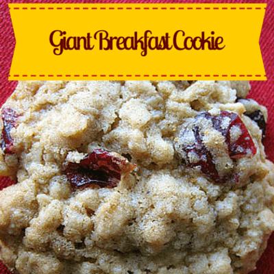 Rachael Ray: Audrey Johns' Giant Breakfast Cookie Recipe
