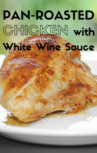 The Chew: Pan-Roasted Chicken With White Wine Sauce
