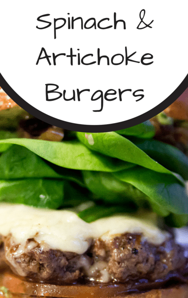 Rachael Ray: Spinach & Artichoke Burgers + Tarragon Special Sauce