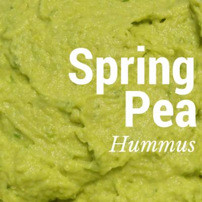 The Chew: Spring Pea Hummus Recipe